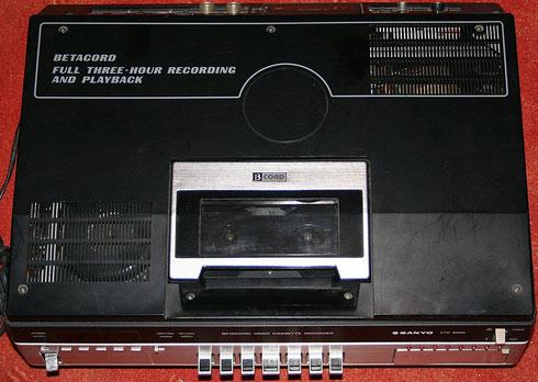 Sanyo VTC 9300 Betamax Videorekorder