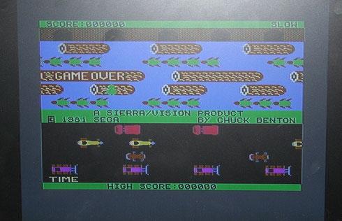 Und...es läuft auf dem C64
