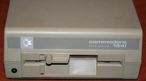 Floppylaufwerk Commodore 1541