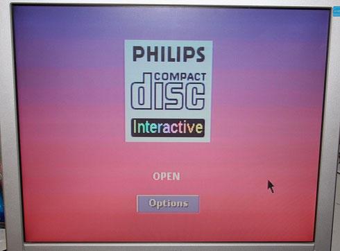 Philips CD-i Startbildschirm