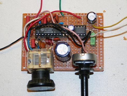 UKW-Radio mit TDA7000 und LM386