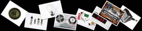 Elektronische Bauteile und Geräte