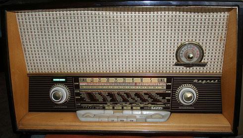 Loewe Opta Magnet 5725 W Röhrenradio