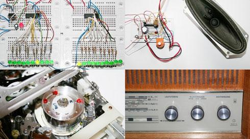 Basteleien, alte Geräte und Röhrenradios