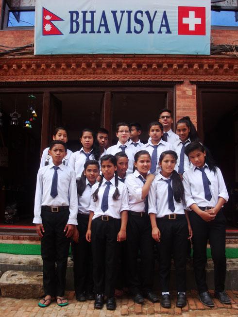 """Les jeunes en formation """"Bhavisya"""""""