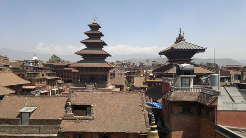 Toits de Bhaktapur