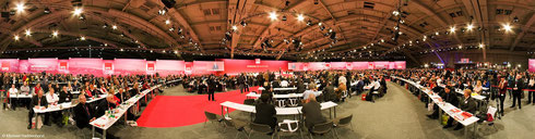 Sonderparteitag der SPD in Hannover 2012