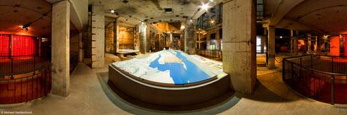 Realstadt Ausstellung im ehemaligen Heizkraftwerk Mitte