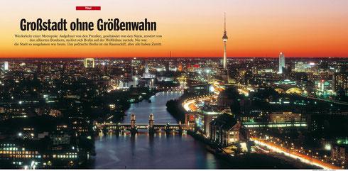 Magazin: Der Spiegel. Doppelseitige Nutzung für Titelstory