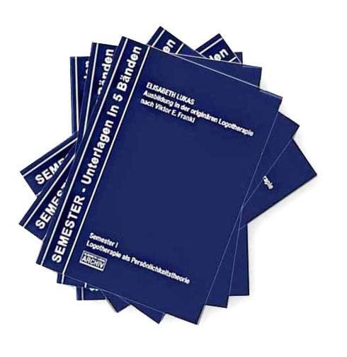 Ausbildungsunterlagen in 5 Bänden