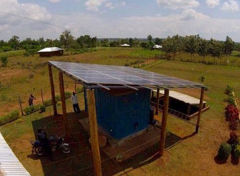 RVE.SOL Mini-grid im Dorf Sidonge, Kenia - Für Veröffentlichung freigegeben mit Angabe der Bildrechte: RVE.SOL