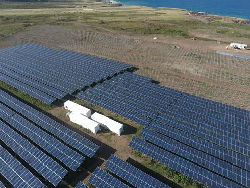 PV-Battery Diesel Hybrid Plant on Sint Eustatius - (c) SMA Sunbelt