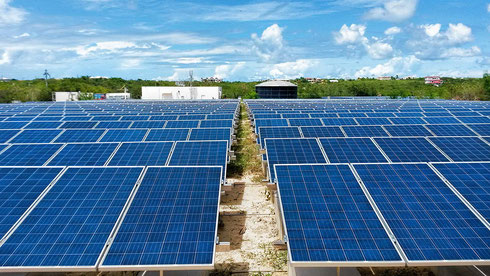 1 MW PV plant of CuisinArt Golf Resort and Spa at Rendezvous Bay, Anguilla - approved for media publication with source: CuisinArt Golf Resort and Spa