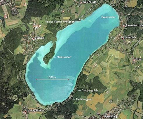 Wörthsee - Luftbild