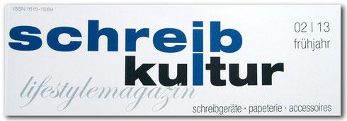 Schreibkultur 02/2013