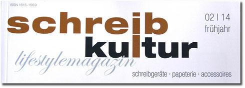 Schreibkultur 02/2014 Frühjahr