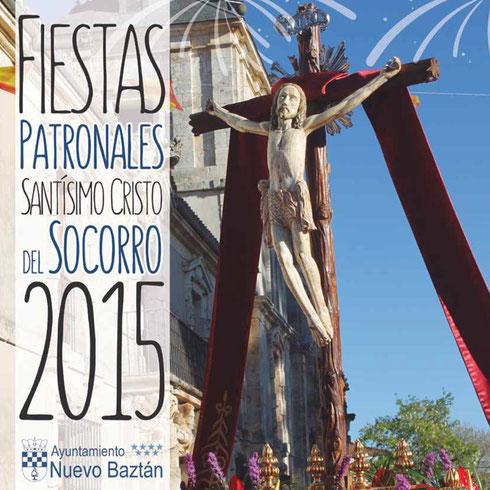 Cartel y programa de las Fiestas Patronales 2015 de Nuevo Baztán