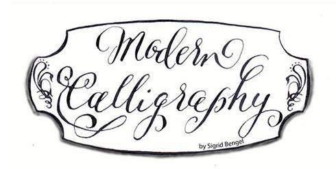 Kalligraphie neu interpretiert