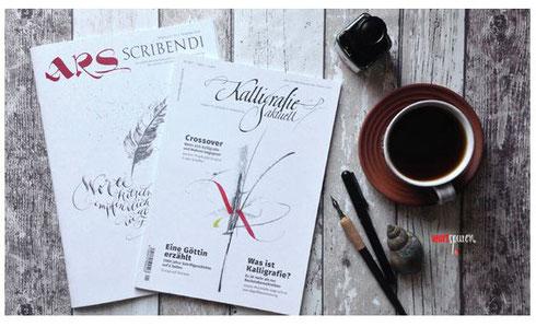 Kalligraphie-Zeitschriften
