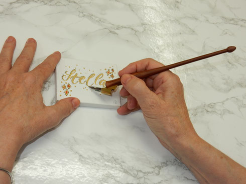 Kalligrafie ist immer Handschrift - aber Handschrift nicht immer Kalligrafie