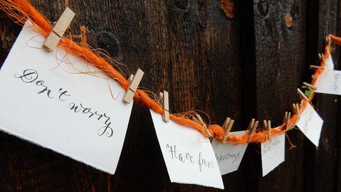 Modern Calligraphy: Don't worry - es ist gar nicht so schwer