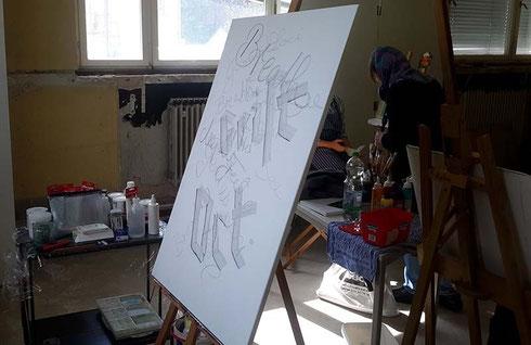 Kalligraphie_Geniun_Loci