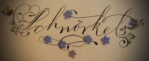Schnörkel / Flourishes machen Schriftstücke noch schöner!
