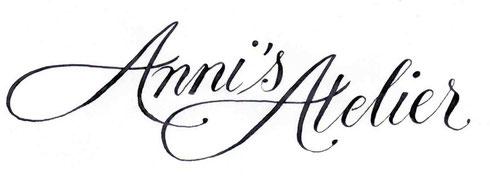 Logo Kalligraphie für Stuttgarter Kosmetikstudio