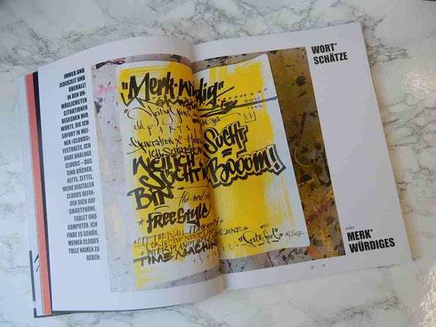 Das Skizzenbuch für den kalligrafischen Jumpstart