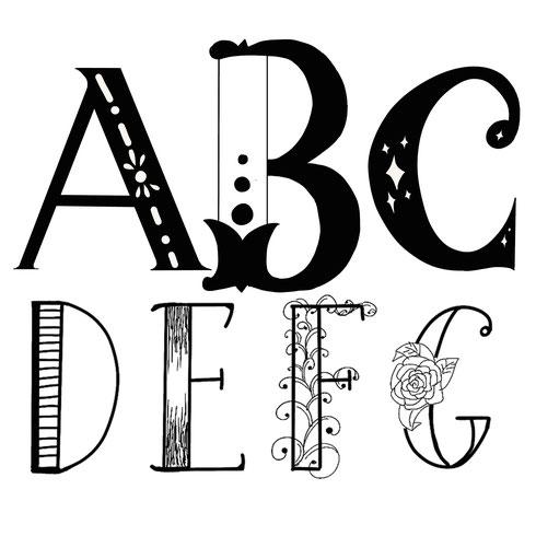 Neuer Handletteringworkshop-Decorated-Letters