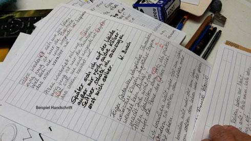 Schönere Handschrift: Test verschiedener Schreibwerkzeuge