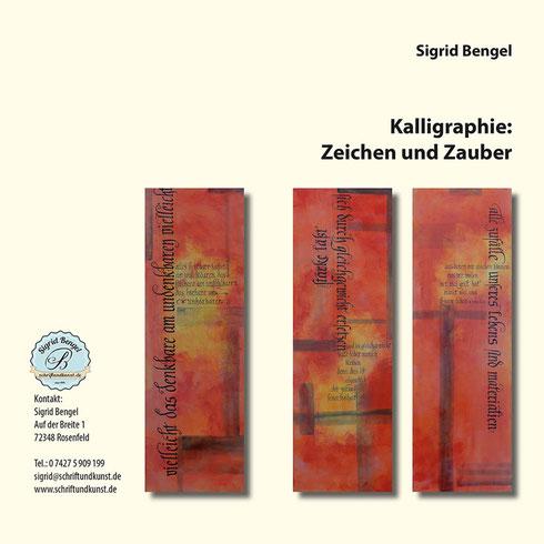 Kalligraphie-Ausstellung Tübingen / Mössingen