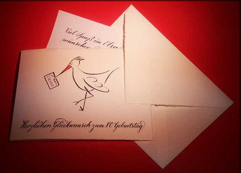 Kalligraphiekurs Kalligraphie lernen vhs Balingen