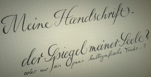 Handschrift verschönern