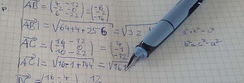 Handschrift Google Doodle Mathematik