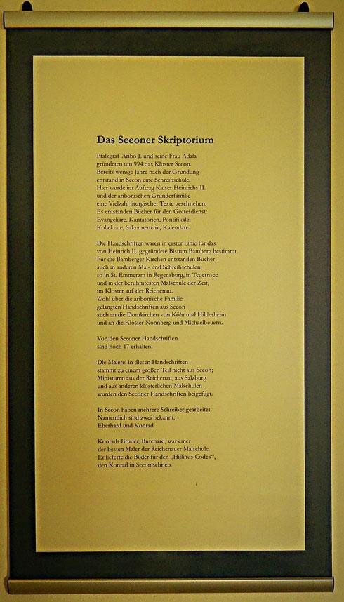 Von den Seeoner Handschriften sind noch 17 erhalten.