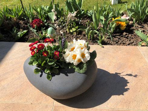 Ostergruß aus dem Garten von Marlene Hajek