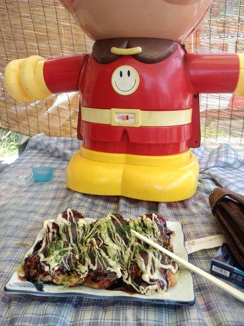 Bigサイズのタコ焼き(スペシャル)