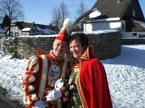 2009 Prinz Hansi Diekfelder I. Prinzessin Manuela Diekfelder I.