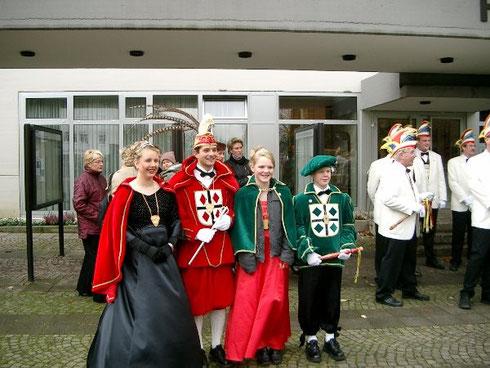 2002 Prinz Jörg Bitterlich I. Prinzessin Marion Bitterlich I.