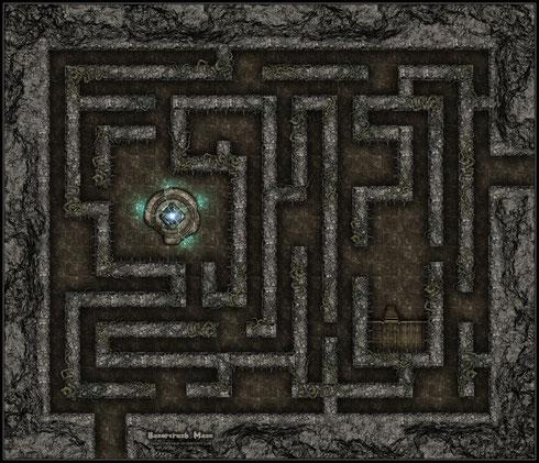 Plateau Héroquest, Le labyrinthe