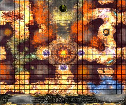 Claustrophobia, plateau HQ , création juillet 2014   (adaptation du jeu de plateau de Croc)