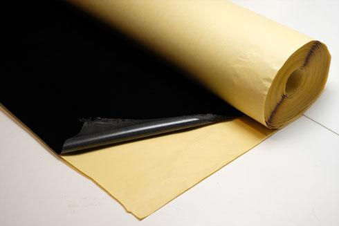 のり付き仕様の場合は、裏面に離型紙を貼り合わせた状態でご提供します。