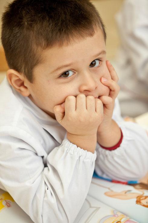 Per questa immagine del bambino Alex Ferro, ho avuto autorizzazione alla pubblicazione dal padre Simone Ferro