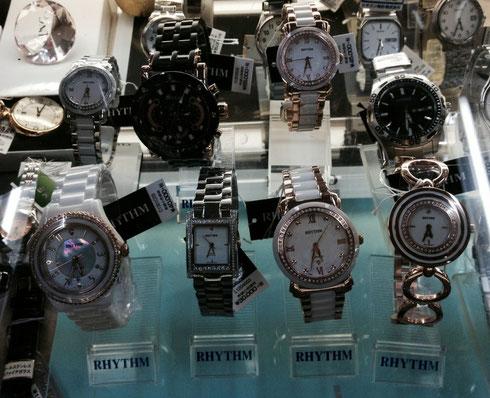 リズムウォッチの腕時計