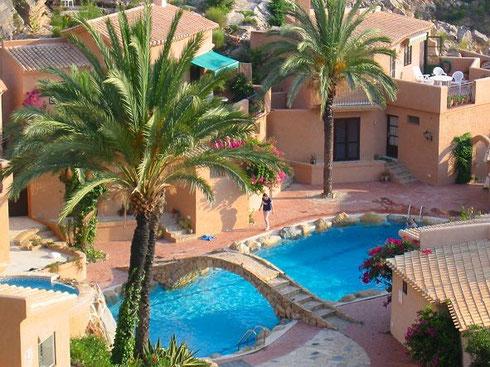 Abbildung 4: Häusergruppe in Andalusien, Sierra Cabrera