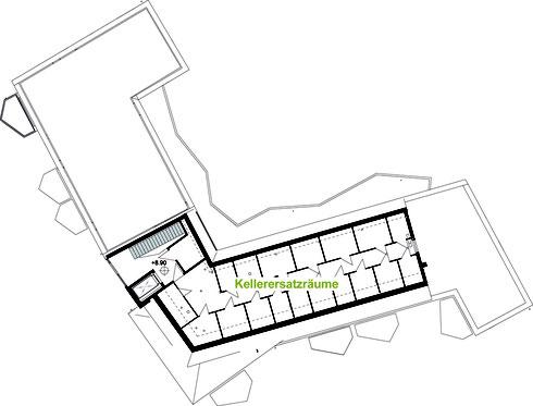 LiNa Dachgeschoss mit Kellerersatzräumen
