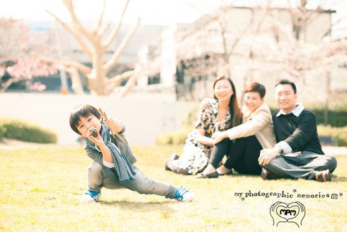 家族写真 京都 滋賀!