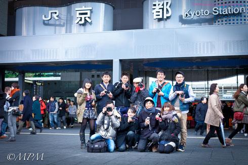 12年3月 京都駅にいきましたね☆