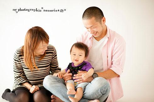 ご出産後(家族写真)